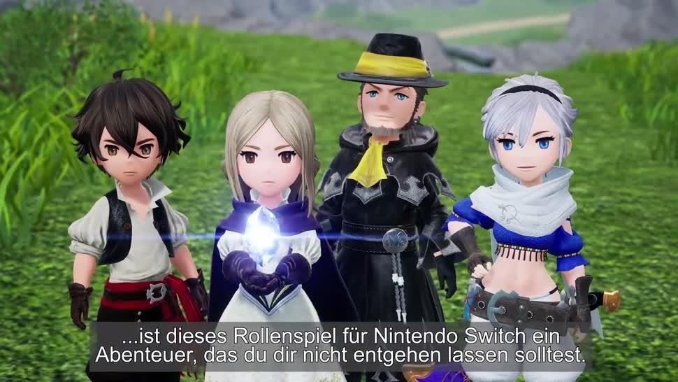 Trailer, Nintendo, Rollenspiel, Nintendo Switch, Switch, JRPG, Bravely Default 2, Bravely Default