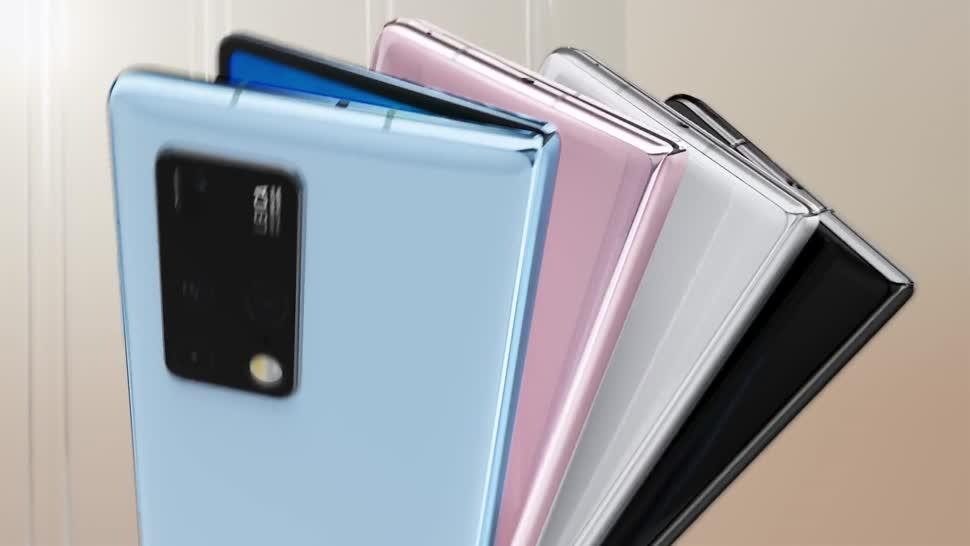Smartphone, Huawei, faltbar, Faltbares Display, Faltbares Smartphone, Galaxy Fold, Falt-Smartphone, Faltdisplay, Falt-Display, faltbares Smartphoe, Mate X2, Huawei Mate X2