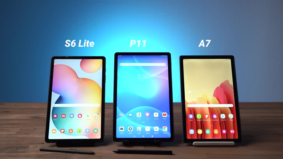 Android, Tablet, Samsung, Galaxy, Samsung Galaxy, Lenovo, Andrzej Tokarski, Tabletblog, Vergleich, Samsung Galaxy Tab, Samsung Galaxy Tab S6 Lite, Lenovo Tab P11, Galaxy Tab S6 Lite, Samsung Galaxy Tab A7, S6 Lite, Tab P11, Galaxy Tab A7