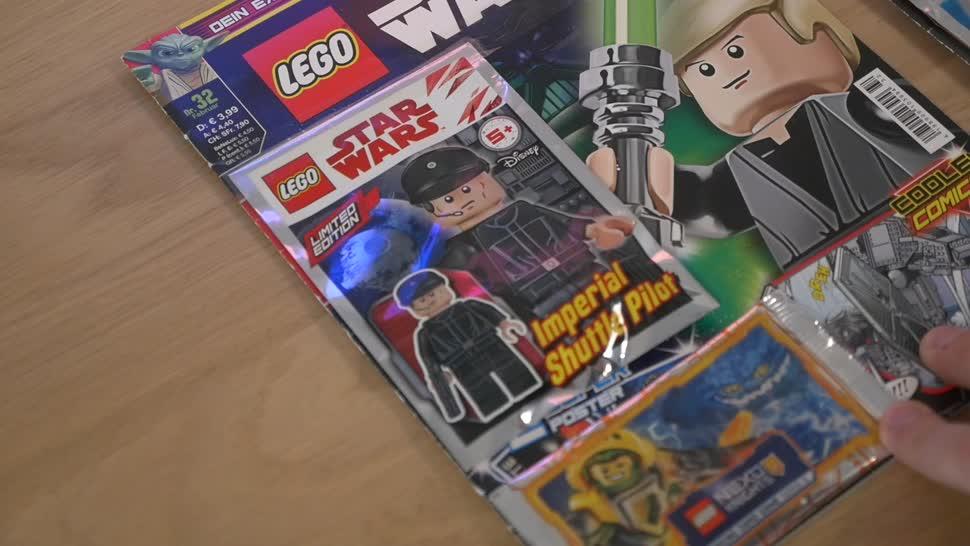 Star Wars, Timm Mohn, Lego, Comic, Heft, Klemmbausteine