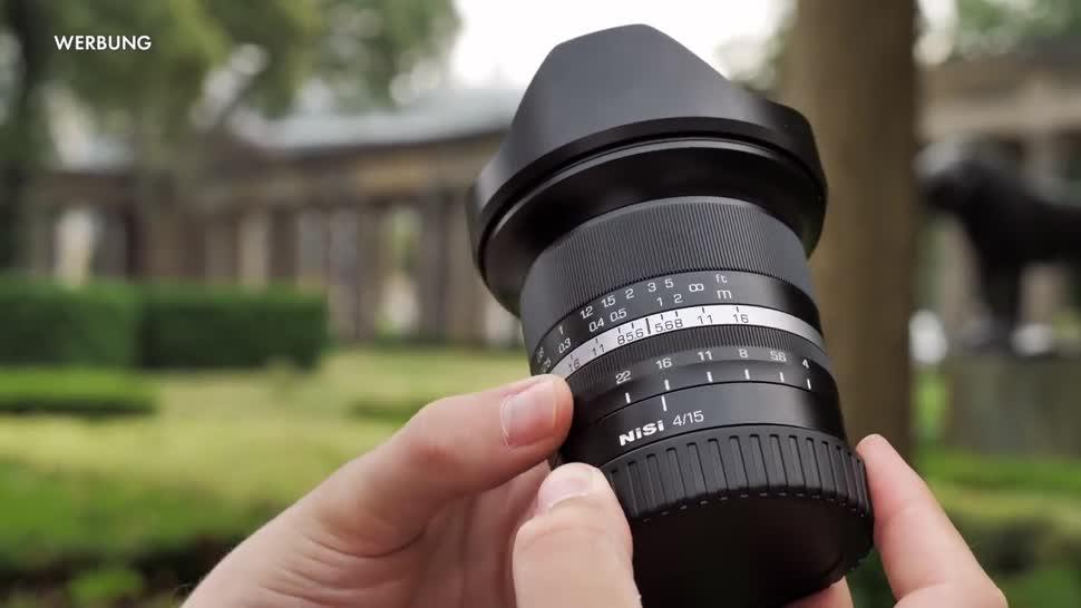 ValueTech, Fotografie, Objektiv, Festbrennweite, NiSi 15 mm f/4 Asph, Nisi