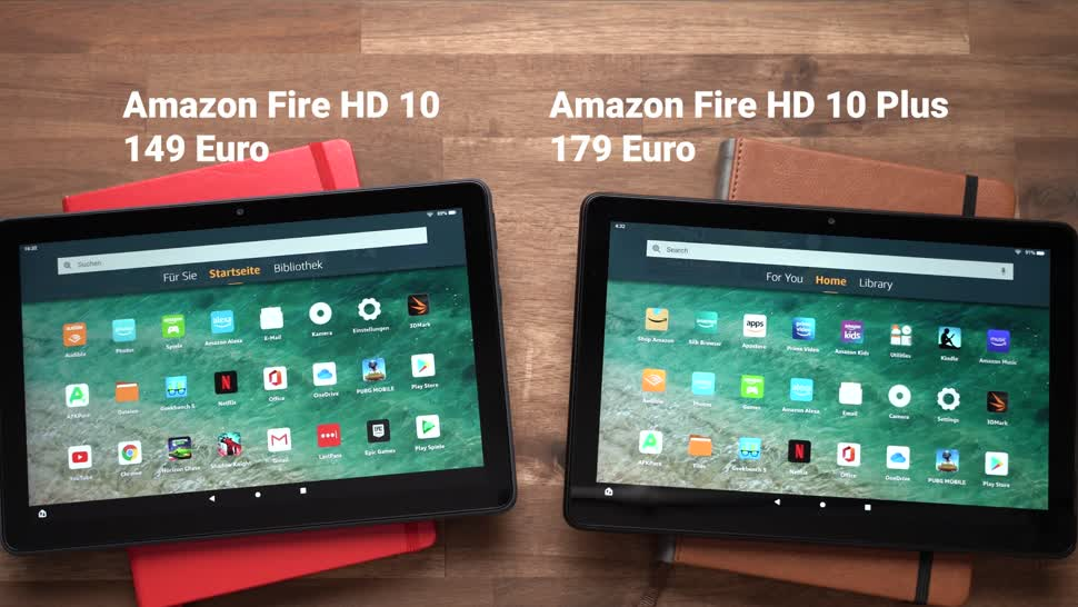 Android, Tablet, Amazon, Test, Tablets, Alexa, Andrzej Tokarski, Tabletblog, Amazon Fire, Amazon Fire HD 10, Amazon Fire HD, Amazon Fire HD 10 Plus, Fire HD 10 Plus
