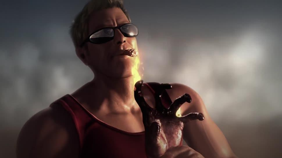 Trailer, Shooter, Duke Nukem, Gearbox, Duke Nukem Forever, 3d Realms, Duke, Duke Nukem Begins