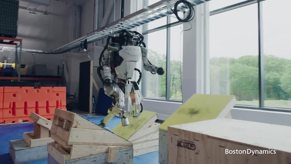 Forschung, Ki, Künstliche Intelligenz, Roboter, Robotik, Boston Dynamics, Atlas