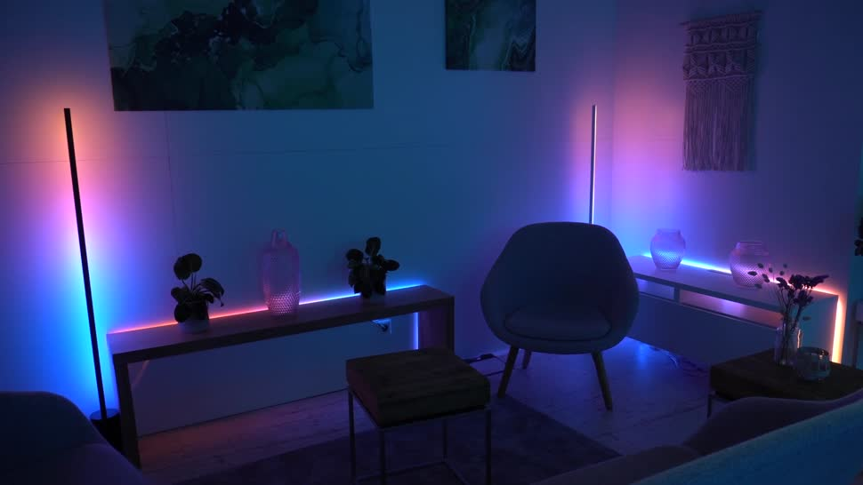 Spotify, NewGadgets, Johannes Knapp, Philips, Beleuchtung, Philips Hue, Ambilight, Signify, Philips Hue Play, Philips Hue Play Gradient Light Tube, Gradient Light Tube, Philips Hue Gradient Signe Tischleuchte, Philips Hue Gradient Signe, Philips Hue Ambience Gradient Lightstrip, Ambience Gradient Lightstrip