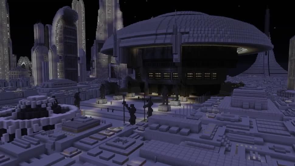 Star Wars, Minecraft, Map, Galaxis