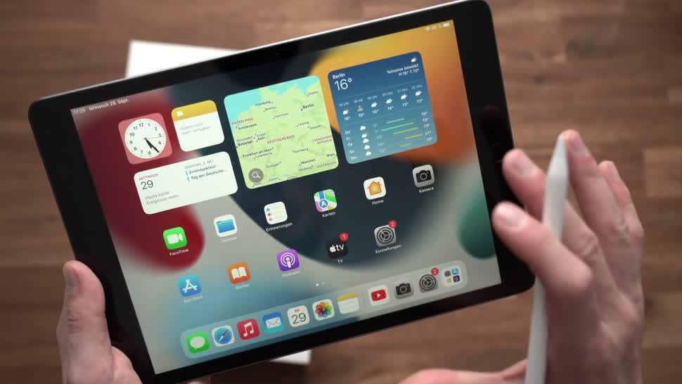 Apple, Tablet, Ipad, Apple Ipad, Andrzej Tokarski, Tabletblog, Unboxing, iPad OS, Apple iPad 9, iPad 9
