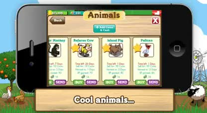Iphone, Zynga, iPod touch, Farmville