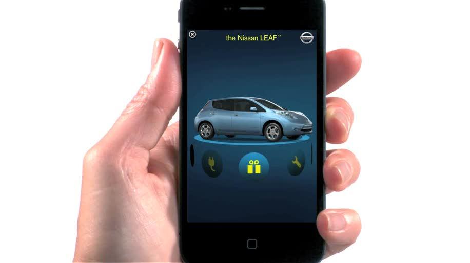 Apple, Iphone, Werbung, Iad, Nissan