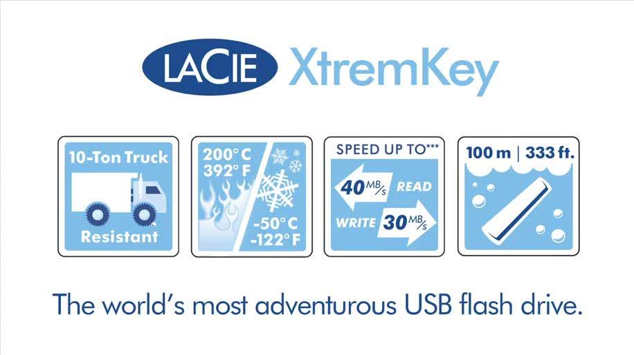 USB-Stick, Lacie, XtremKey