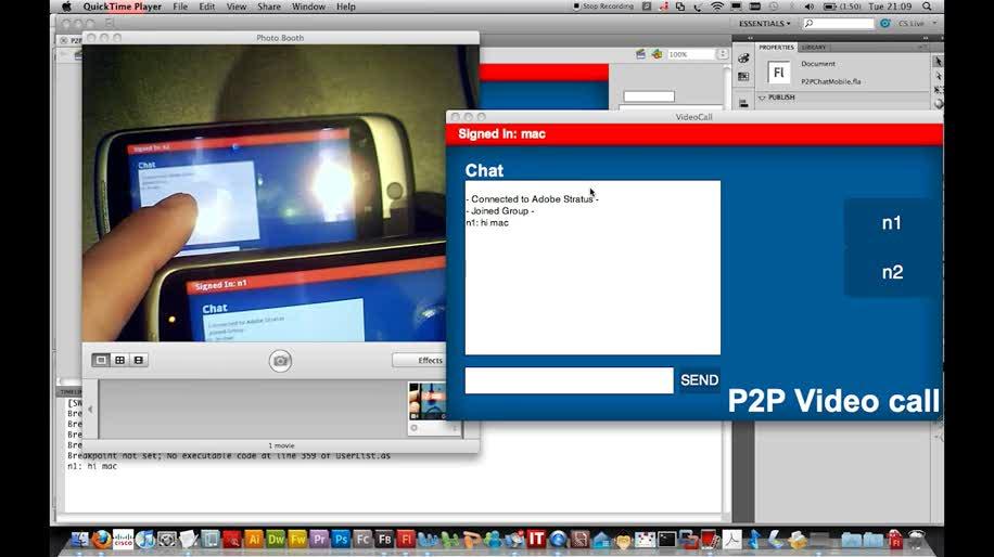 Adobe, Videotelefonie, Flashtime
