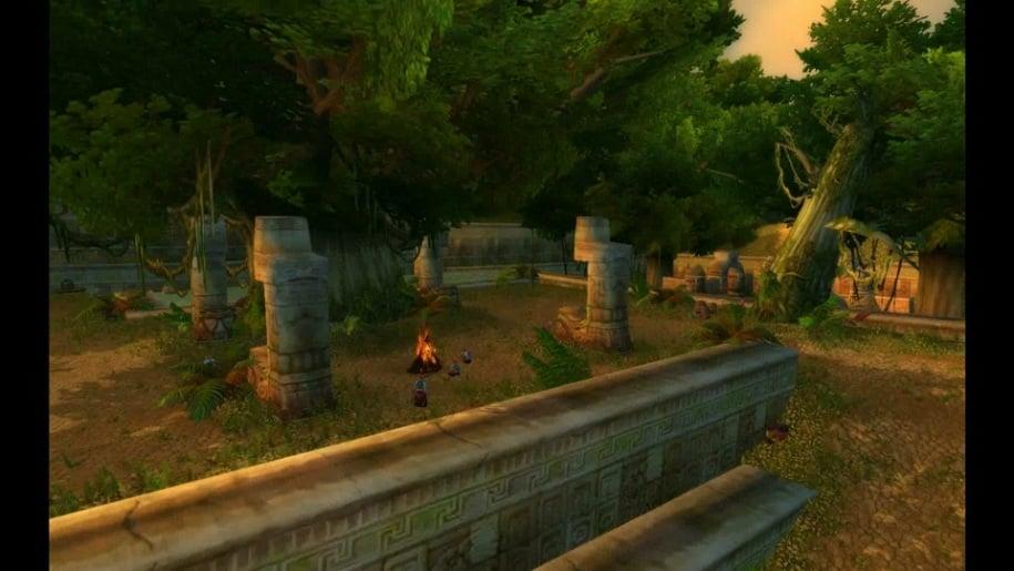 Trailer, World of Warcraft, Cataclysm, Schlingendorntal