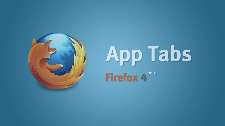 Browser, Firefox, Mozilla, Firefox 4.0, App-Tabs