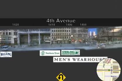 Microsoft, Bing, Suche, Karten, Streetside, Streetview, Street Slide