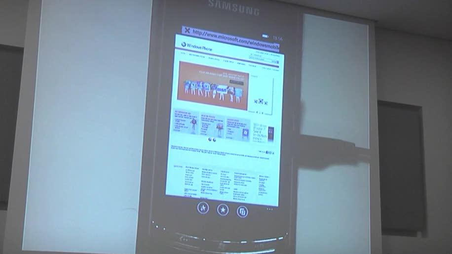 Smartphone, Windows, Browser, Windows Phone 7, Internet Explorer, Demo, Mobil, Browsing