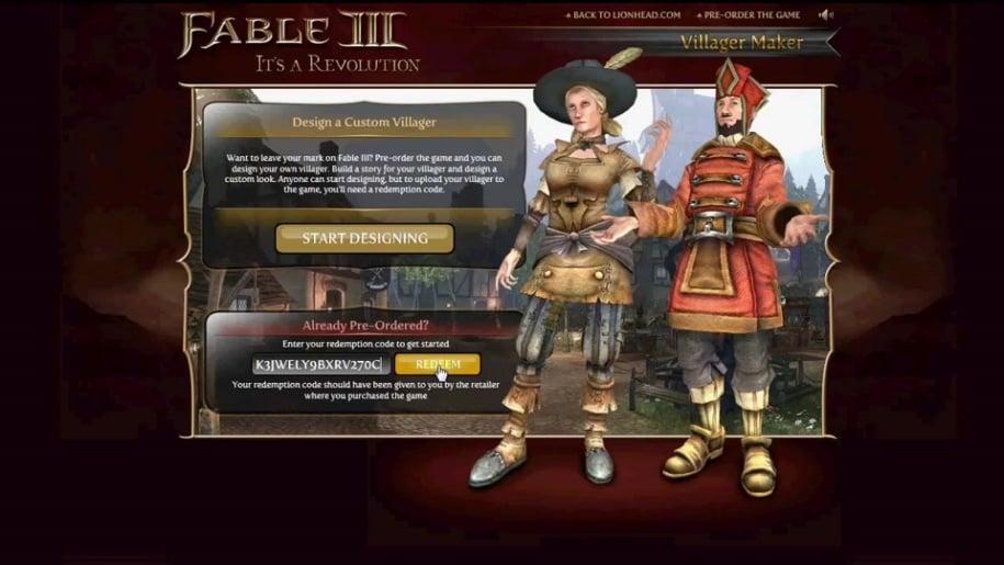 Trailer, Fable, Lionhead, Fable 3