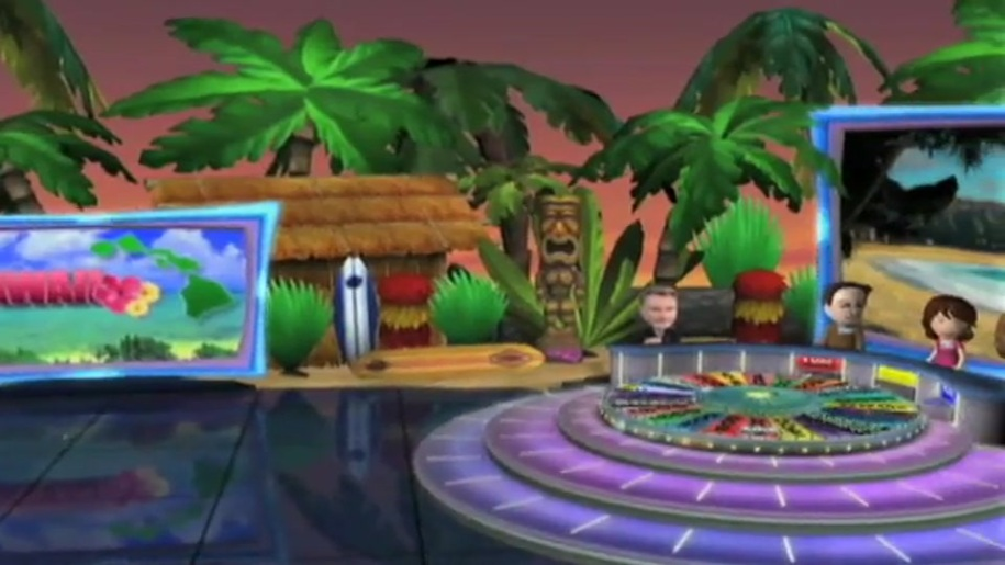 Trailer, Nintendo, Wii, Glücksrad, Wheel of Fortune