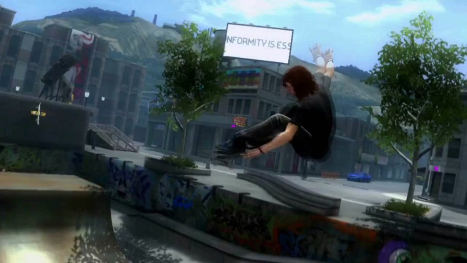 Trailer, Skateboard, Shaun White Skateboarding