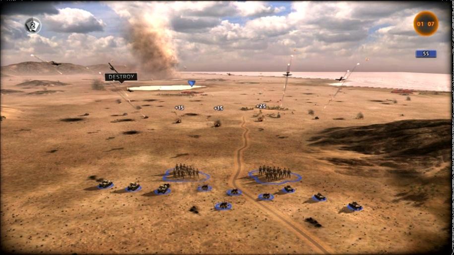 Ubisoft, Gameplay, Strategie, R.U.S.E., Tunesien