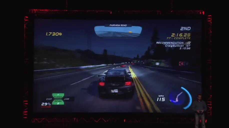 Gameplay, Gamescom, Need for Speed, Hot Pursuit, Electronic Arts. Rennspiel