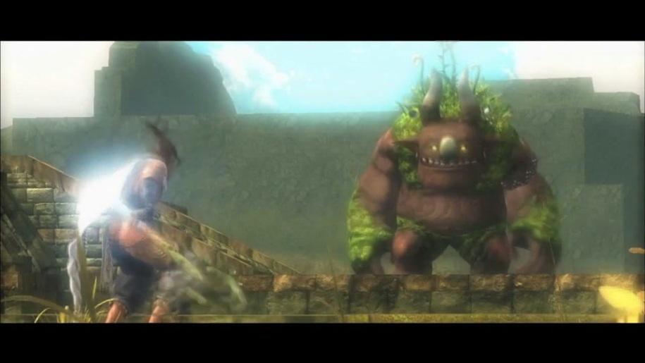 Trailer, Majin and the Forsaken Kingdom