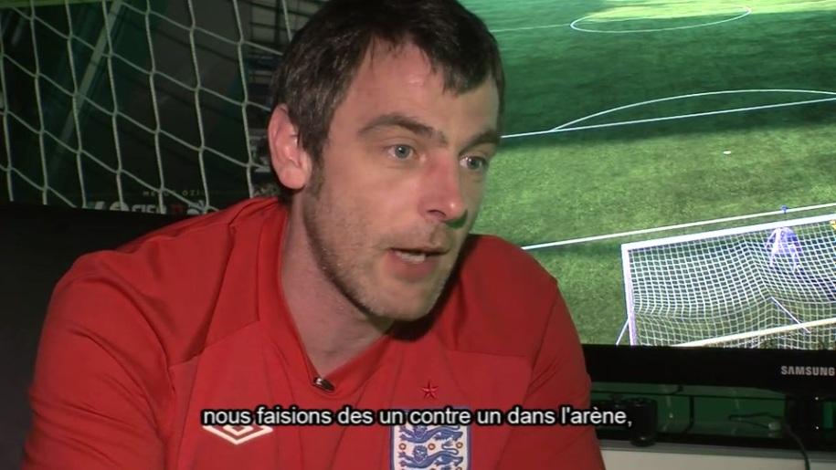Gamescom, Fußball, Interview, FIFA 11, David Rutter