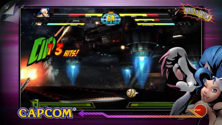 Trailer, Gamescom, Marvel vs. Capcom 3, Fate of Two Worlds