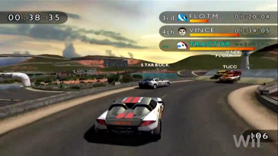 Trailer, Trackmania Wii