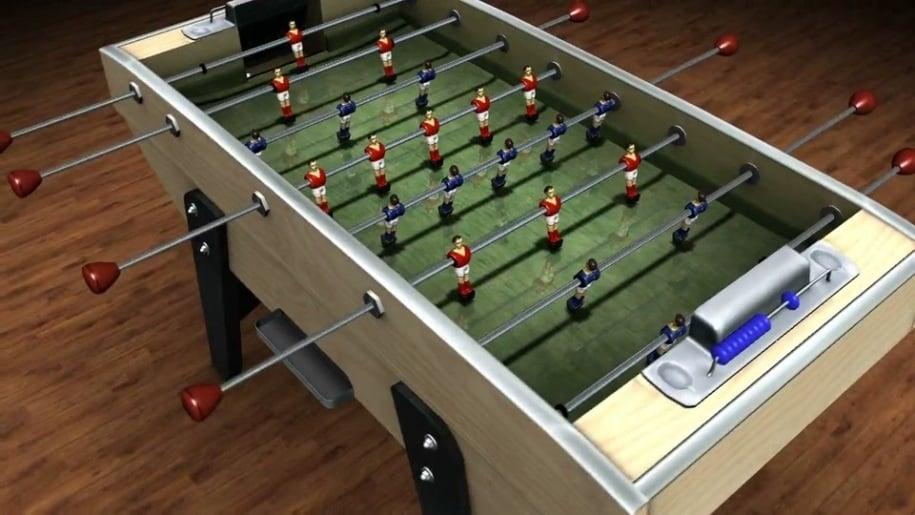 Trailer, Table Soccer X, Kicker, Tischkicker, Tischfußball