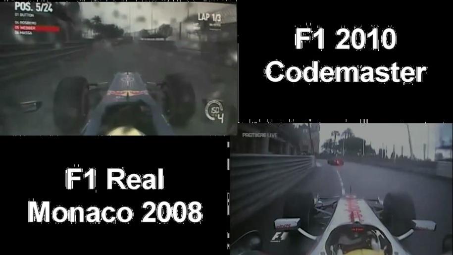 Gameplay, Codemasters, Formel 1, F1 2010, Monaco