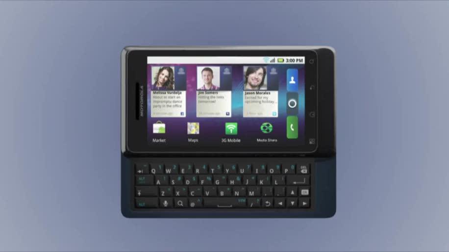 Smartphone, Android, Motorola, Milestone, Milestone 2, Motoblur