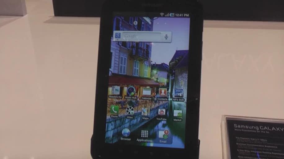 Tablet, Samsung, Galaxy, Arm, Touchscreen, Google Android, Galaxy Tab, Gps, Samsung Galaxy Tab, Android 2.2, 10 Zoll, Cortex-A9, kapazitiv, Touchwiz 3.0, A-GPS