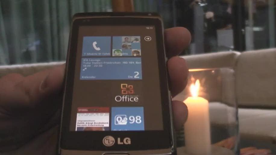 Smartphone, Betriebssystem, Windows, Video, Windows Phone 7, Hands-On, Hands on, Rtm, Final