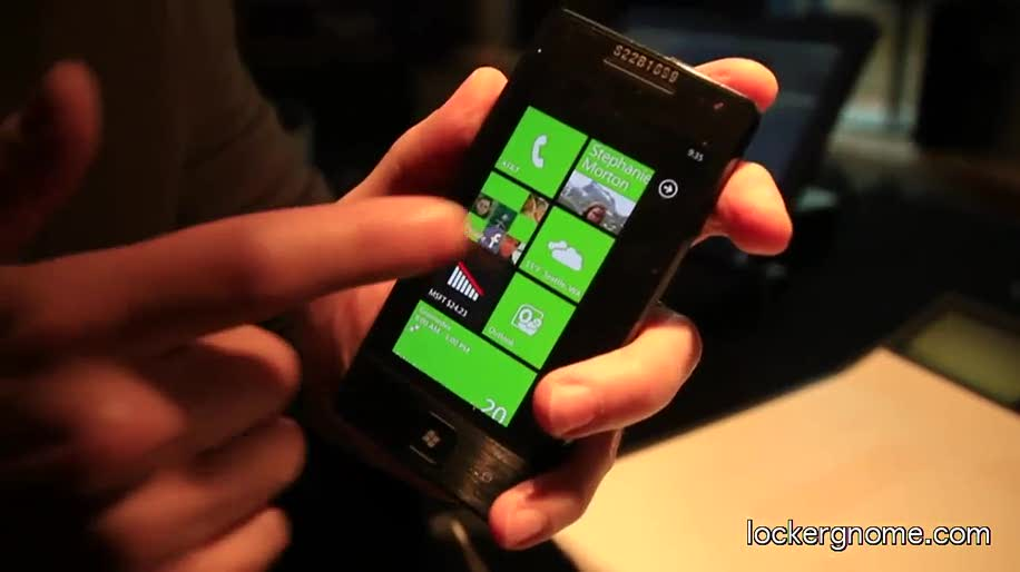 Smartphone, Windows Phone 7, Asus, Prototyp, Demo