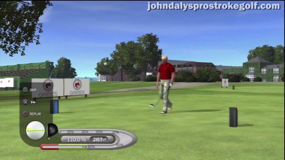 Trailer, PlayStation 3, Move, John Daly's Prostroke Golf, Golg