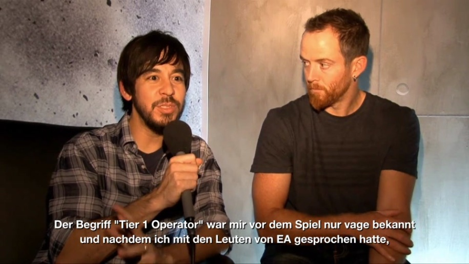 Electronic Arts, Medal of Honor, Interview, Linkin Park