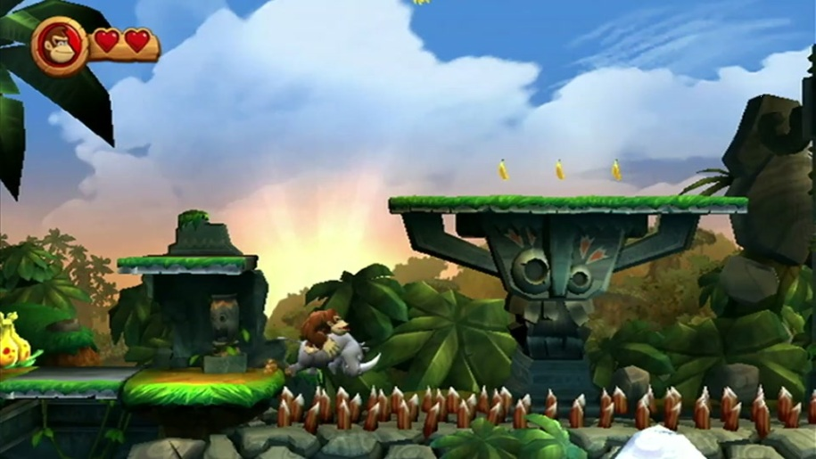 Trailer, Donkey Kong, Nashorn, Donkey Kong Country Returns, Rambi