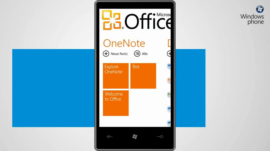 Microsoft, Smartphone, Windows Phone 7, Offoce Mobile 2010