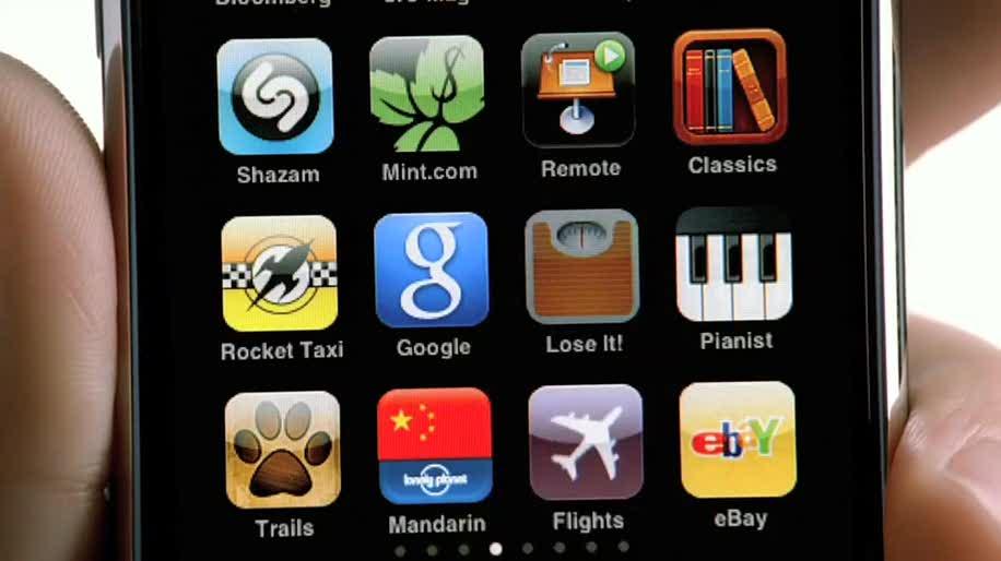 Apple, Iphone, App, Werbung