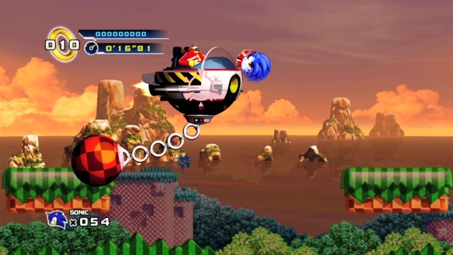 Trailer, SEGA, Sonic, Hedgehog, Sonic 4