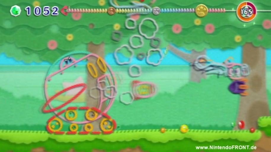 Gameplay, Kirby's Epic Yarn, Kirby