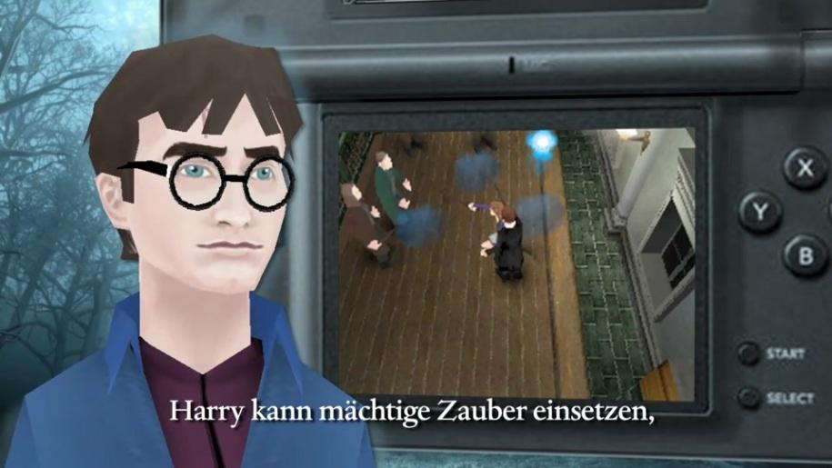 Trailer, Nintendo, Ds, Harry Potter, Heiligtümer des Todes