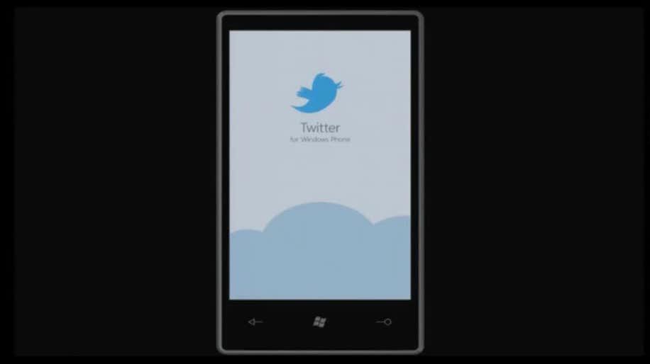 Microsoft, App, Windows Phone 7, Twitter