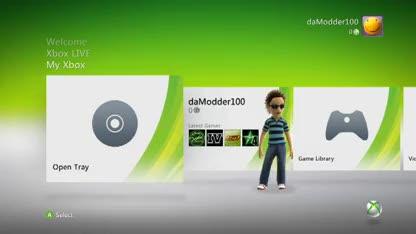 Microsoft, Konsole, Xbox, Xbox 360, Dashboard