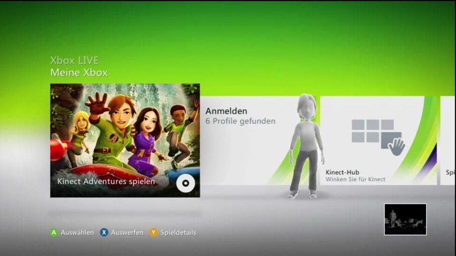 Microsoft, Xbox 360, Kinect, Bewegungssteuerung