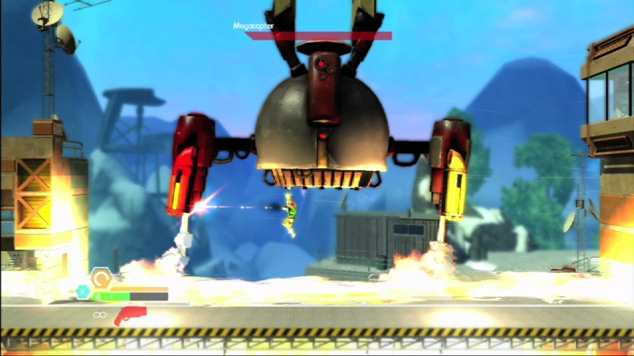 Bionic Commando, Bionic Commando Rearmed 2, Megacopter