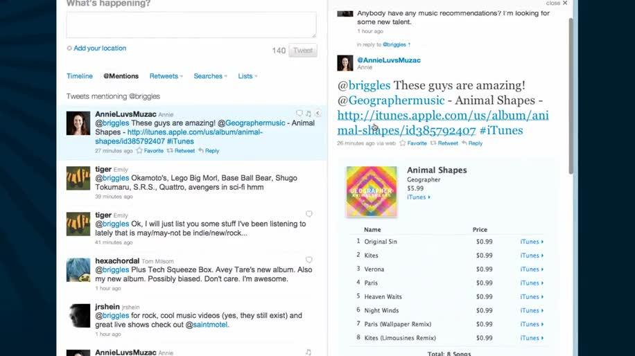 Apple, Musik, Twitter, Itunes, Ping