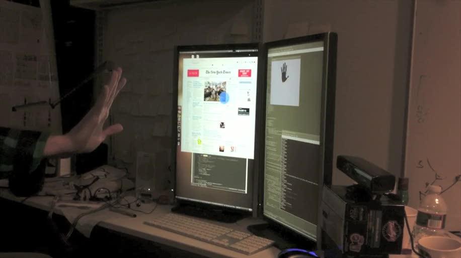 Browser, Xbox, Xbox 360, Kinect, Bewegungssteuerung, Media Center, Gesten, Bewegungserkennung, Scrolling, Motion Sensing, Panning, Zooming