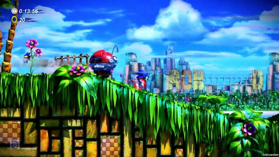 Gameplay, Sonic Fan Remix