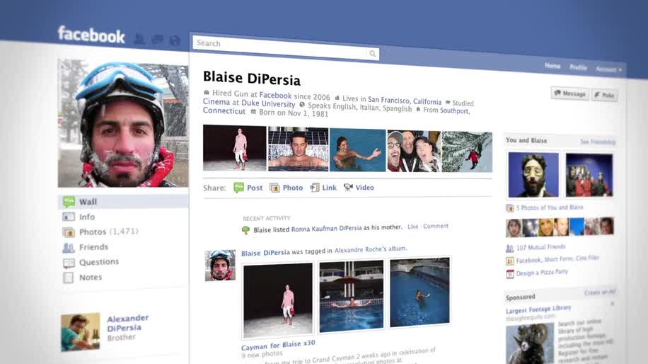 Facebook, Social Network, Profil, Profilseite